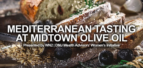 WN2 Presents Mediterranean Tasting at Midtown Olive Oil